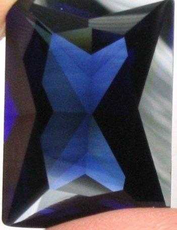 25x18mm (~44.35ct) Scissor Cut Thailand Sapphire