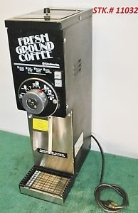 GRINDMASTER 875 COFFEE GRINDER Best Value Very Clean compare Bunn G3