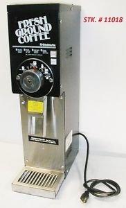 GRINDMASTER 875 COFFEE GRINDER Excellent Working Cond. compare Bunn G1 G2 G3 810