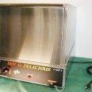 STAR 70SSA HOT and DELICIOUS HOT DOG COOKER AND BUN WARMER LOW USE EXCELLENT