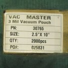 "Vac Master 2.5 x 10"" Chamber Vacuum Packaging Pouches Bags 3 Mil 30765 about1000"