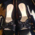East 5th Sandra Dee Black Slide Sandals Women's Size 8.5 M EUC!