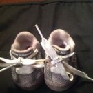 NEW BALANCE 992 INFANT/BABY  SIZE 0 USA GRAY AND WHITE-   REAL CUTE