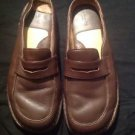 Comfort Brown's Landing 9.5 M Brown Loafer Mule Shoes