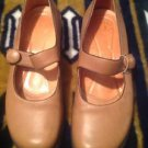 Murtosa Portugal Women's Tan Mary Jane Shoe 40 U.S. 9M Great Condition Ret. $139