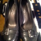 Kim Rogers 8.5M Black Pump London Dress Heel Pump Comfort Shoe