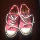 Converse Pink Youth Size 3 Sneakers