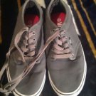 Vans Men's TB4R Classic Skate Shoe Gray/White Size 9.5 Preowned Real Good Shape