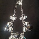 Style & Co TRTNE Silver Bloodstone Necklace Ret $28