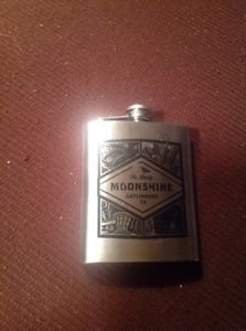 Ole smokey moonshine stainless steel flask