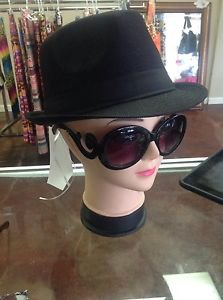 Designer Oversized High Fashion Sunglasses w/ Baroque Swirl Arms Black or Tort