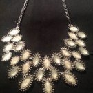 Style & Co Silver W/ White Teardrop Necklace Ret. $34