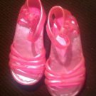 Stepping Stones TODDLER Girl SANDALS Shoes~Neon Pink~Size 5~