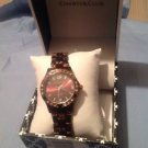Charter Club Brown Beautiful Bracelet Watch Ret. $35