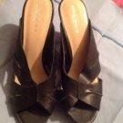 """Mossimo Cork Wedge Heel Sandals 3"""" Size 9 Ret. $45"""