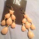 INC Natural Cluster Chandelier Earrings Ret 26.50