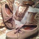 Clarks Originals Wallabee Shoes Sand Suede Style 35395 Men's SIZE 8M LACE UP