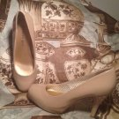 MADDEN GIRL GETTA WOMEN'S NUDE BEIGE CLASSIC HIGH HEEL PUMPS SHOES SIZE 6.5M