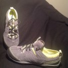 MERRELL BAREFOOT CONTOUR GLOVE CASTLE ROCK GRAY RUNNING SHOES WOMEN'S SIZE 6.5M