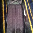 SILK Cumberbund & Bow Tie Black Men's Cummerbund & Bow Tie Set MRSP $129