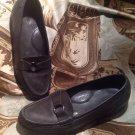 "SAS ""Jewel"" Gray Leather Tripad Comfort Loafers Women's SIZE 6.5M Shoes"