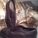 DRESS SPORTS BY ROCKPORTS MEN'S BROWN LEATHER LACE UP SHOES SIZE 13M MRSP $149
