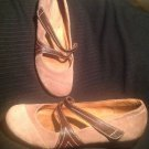 "NATURALIZER ""NELSON"" LIGHT BROWN/ BROWN SUEDE MARY JANE SHOES WOMEN'S SIZE 10M"
