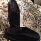 Sperry WOMEN'S Slip On Leather Black Mules Sz 7m Shoes Footwear MRSP $129