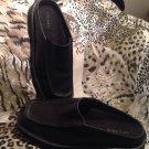Sperry WOMEN'S Slip On Leather Black Mules Sz 7m Shoes Footwear MRSP $129
