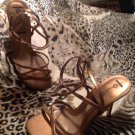 NEW STUDIO HD2 ~ Copper Strappy Sandals Sz 6.5M  Lizzy WOMEN'S SHOES