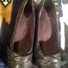 """Kim Rogers Black Wedge Women's Casual Everyday Shoes, Sz 8M """"Candice"""""""