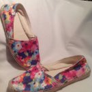 NEW SO AUTHENTIC AMERICAN HERITAGE WOMEN'S  SANDALS SZ 6M SOCABANA FLORAL PRINT