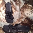 G SERIES WOMEN'S NIKE LAB BLACK THONGS SANDALS SIZE 6.5B SHOES FLIP FLOPS