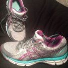 ASICS GEL-EXCITE 2 WOMEN'S RUNNING SHOE T473Q GRAY/MINT/PURPLE SIZE 10M SNEAKERS
