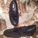 DR SCHOLL'S WOMEN'S DOUBLE AIR PILLOW T-STRAP HEELS Pumps Black Shoes SIZE 6.5W