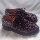 Girl's Youth CANDIES RAWLEY PURPLE/FLORAL Fashion Lace Casual Oxford Shoes Sz 2M