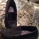 Faded Glory JIMMY Men's Black Comfort Zone Memory Foam Slip-On Shoes Size 7.5M