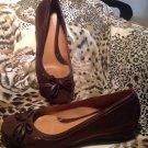 Nuture COPPER BROWN WOMEN'S Beautiul Loafers Shoes Sz 7.5M EUC MRSP $62