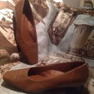 """LIFE STRIDE Women's Leather Pumps HEELS SHOES SZ 7.5M  BROWN """"Rayburn"""" MRSP $68"""