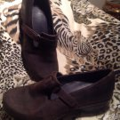 Patagonia Womens Better Clog Slide Shoes ESPRESSO Brown 8.5M Leather MRSP $190