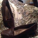 """LifeStride Women's Jenson Brown Penny Loafer STYLE SZ 8.5M Shoe 1.5"""" Heels"""
