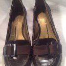 "Kenneth Cole Reaction Womens SZ 6.5M Dark Brown Loafers 'Aces Wild"" Buckle Shoes"