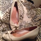 Soft Style by Hush Puppies Women's -Lea Counter Pocket- IVORY Pumps-Sz 8.5M