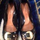 Womens Antonio Melani Sz 6M Animal Print & Patent  Peep Toe Pumps Shoes MRSP $88