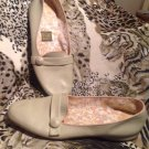 Vintage TAN BEIGE Daniel Green Comfy BEDROOM Slippers Size 9.5M Loafers Slip on