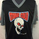 WWF WWE STONE COLD 3:16 MESH SHIRT,OFFICIAL, VINTAGE, BLACK, SIZE LARGE,NEW,NR