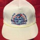MLB 1989 A.L. EAST CHAMPIONS ADJUSTABLE HAT, TORONTO BLUE JAYS, NEW, VINTAGE