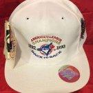 1992-93 B2B AMERICAN LEAGUE CHAMPS ADJUSTABLE HAT,TORONTO BLUE JAYS, NEW,VINTAGE