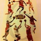 NBA 1998 CHAMPIONS MINI POSTER 4 X 6 INCHES, MICHAEL JORDAN, CHICAGO BULLS, NEW