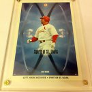 MLB MARK MCGWIRE MINI POSTER, 4 X 6 INCHES, BASEBALL, ST LOUIS CARDINALS, NEW